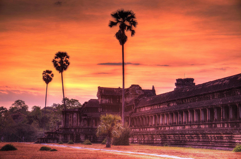 dawn at Angkor Wat Temple, Siem Reap