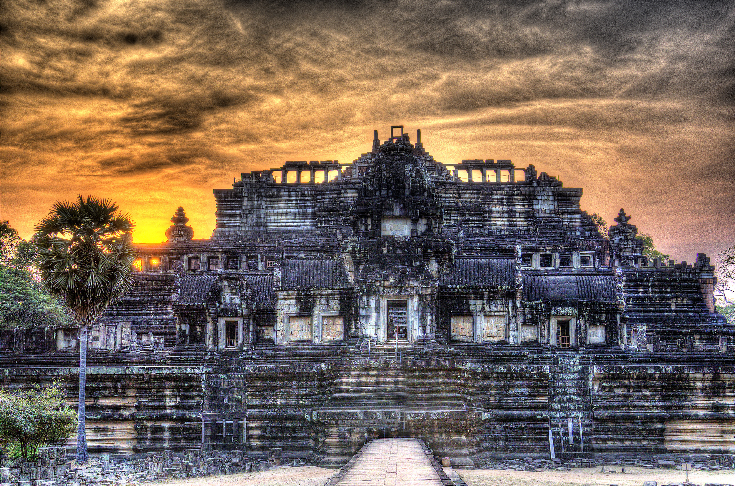 The King's Promenade at Angkor